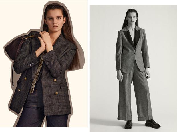Фото №1 - Офисный стиль по-французски: деловой гардероб от Sandro