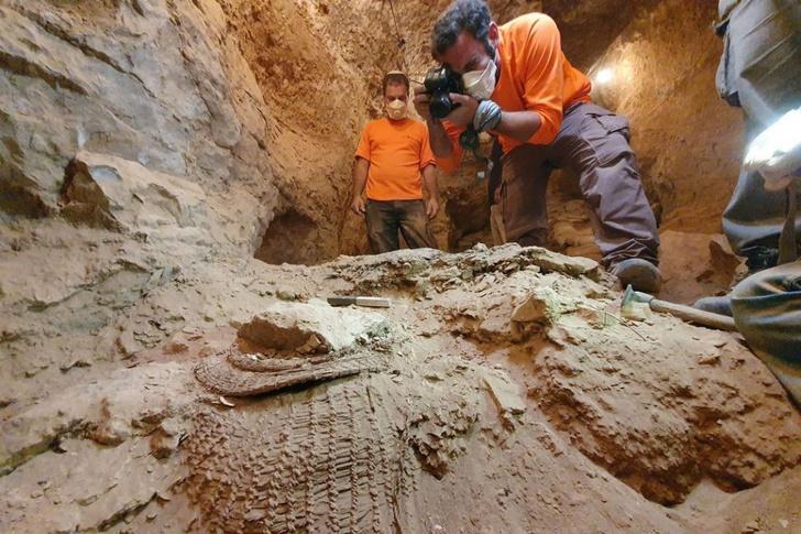 Фото №1 - Обнаружены новые свитки Мертвого моря
