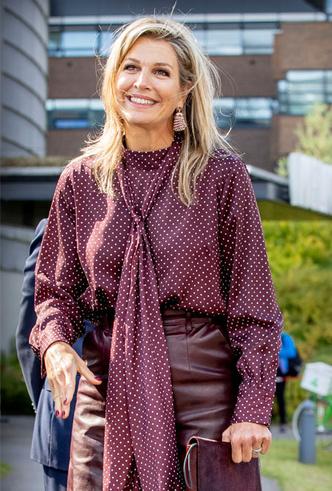 Фото №9 - Бунтарки: как королевские особы носят кожаные вещи