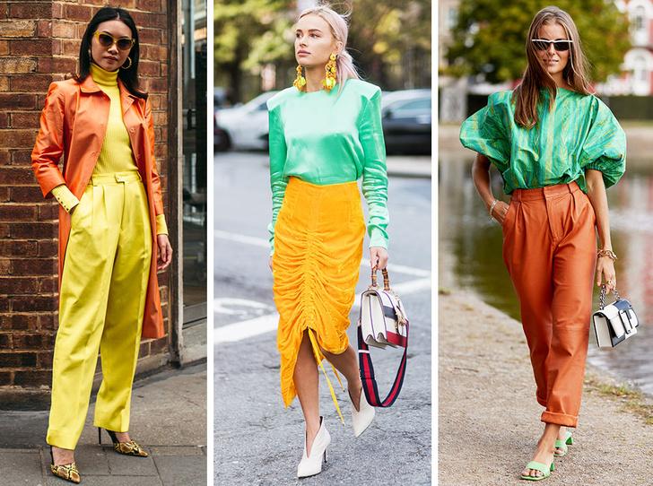 Фото №1 - Апельсин, лимон, лайм: как носить цитрусовые оттенки летом