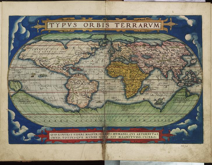 Фото №2 - Как европейцы представляли себе мир пять веков назад: карта 1570 года