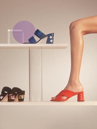 Фото №11 - Тренды весны в новой коллекции сумок и обуви Sandro SS17