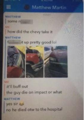 Фото №2 - Подросток сбил насмерть человека и рассказал об этом в соцсетях