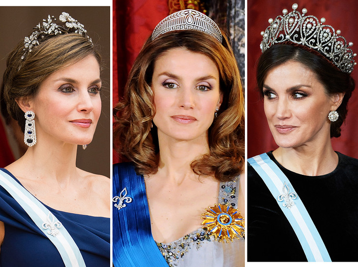 Фото №1 - Любимые тиары королевы Летиции
