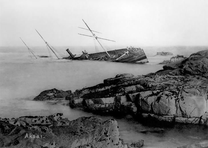 Фото №14 - Не повезло: старинные фотографии кораблекрушений