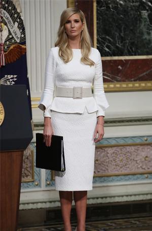 Фото №5 - Почему безупречный наряд Тиффани Трамп в Конгрессе все равно стал ее «стильным провалом»