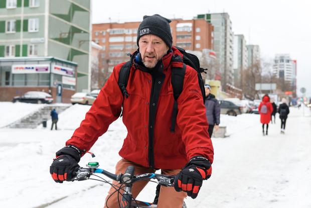 Фото №2 - Зимой по Екатеринбургу на велосипеде? Легко!