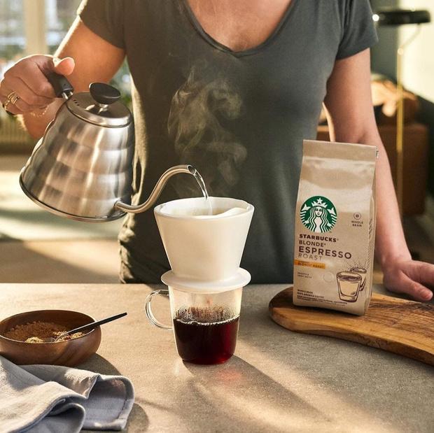 Фото №1 - Любимый Starbucks дома: экспериментируем с кофе вместе