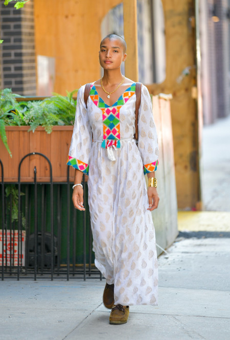 Индия Мур в Нью-Йорке