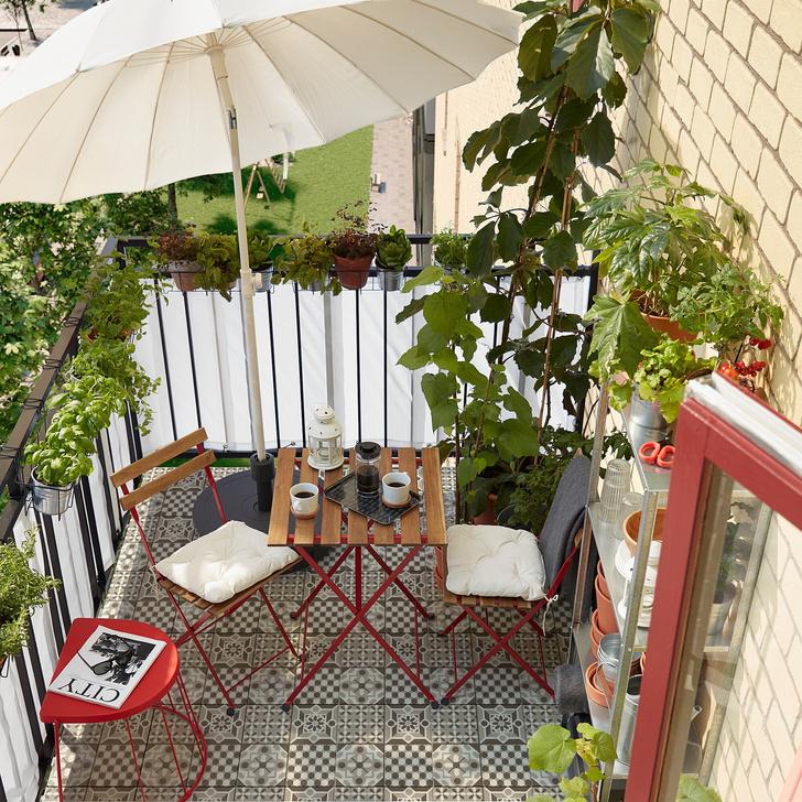 Фото №12 - Маленький балкон: полезные советы по оформлению