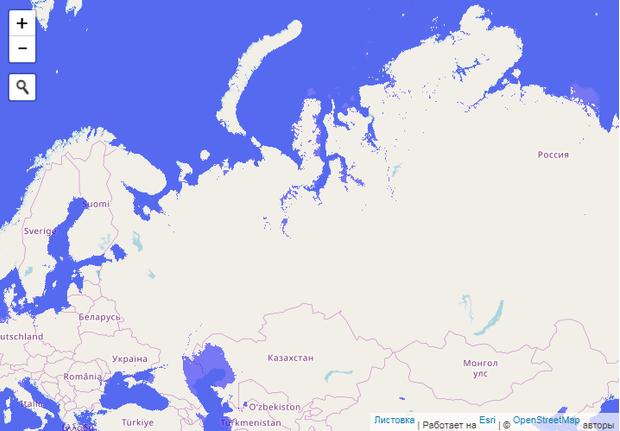 Фото №2 - Сайт дня: интерактивная карта, на которой можно затопить всю планету