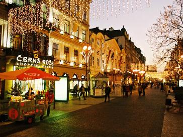 В ночь на 1 января 2012 года Прага станет самым недоступным местом для туристов