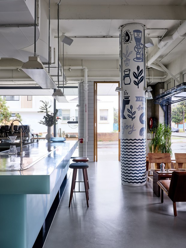 Фото №8 - Пляжное кафе Will & Co в Сиднее