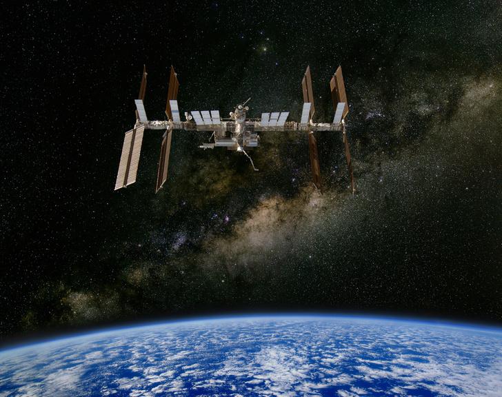 Фото №1 - В эти дни МКС можно увидеть с Земли невооруженным глазом