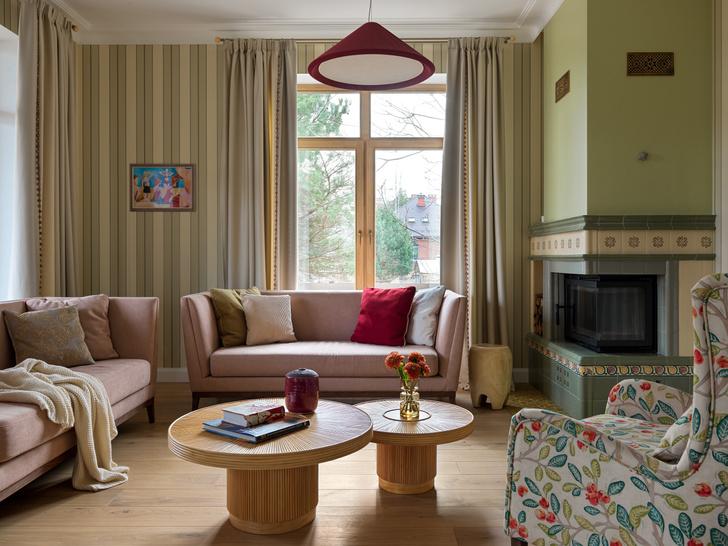 Фото №1 - Загородный дом в пастельных оттенках