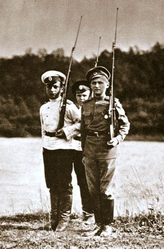 Фото №19 - Милые и забавные архивные фото царской семьи Романовых