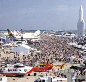 Фото №1 - Международный авиасалон открылся в Ле Бурже