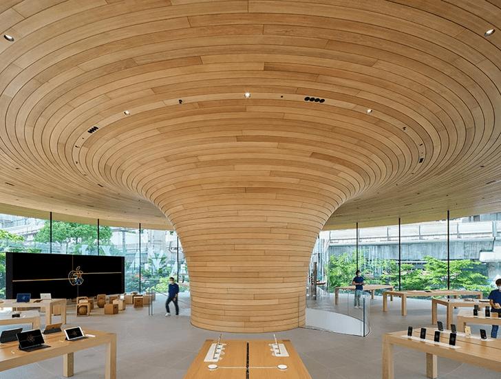 Фото №2 - Новый бутик Apple Store в Бангкоке: проект Foster + Partners