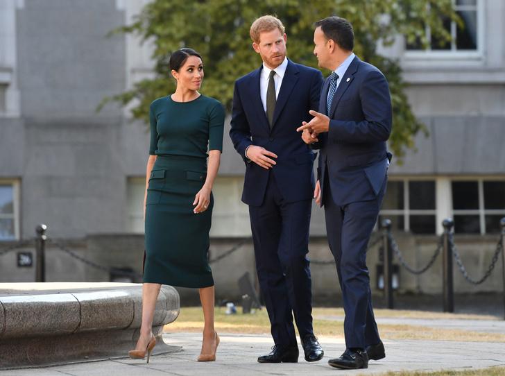 Фото №2 - Меган Маркл и принц Гарри прибыли в Ирландию