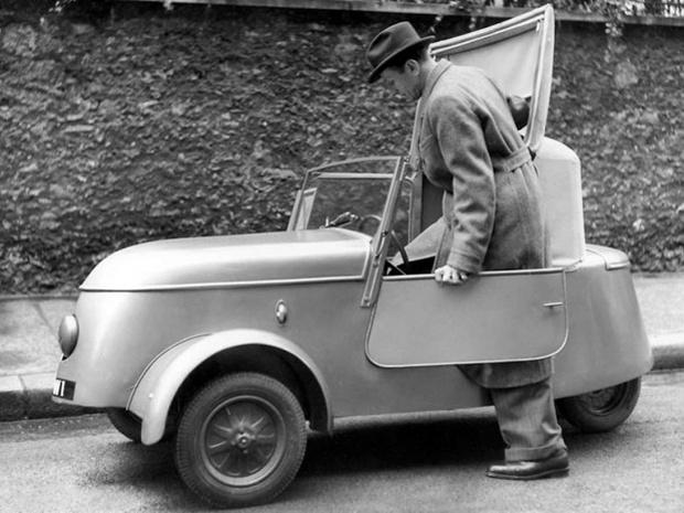 Фото №1 - Электрический «Пежо»: малыш, который обманул гитлеровцев
