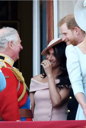 Фото №5 - Любимая невестка: почему Меган всегда была ближе принцу Чарльзу, чем Кейт