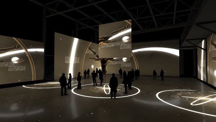 Фото №2 - Мультимедийная выставка «Леонардо да Винчи. Тайна гения»