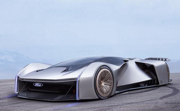 Фото №2 - Ford построил гиперкар вместе с геймерами и назвал его в честь монстра