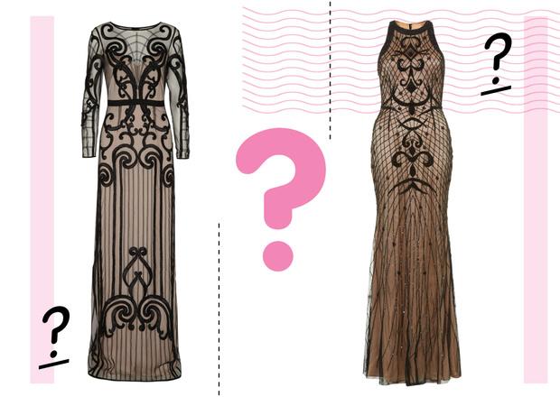 Фото №1 - Дорого-дешево: Платье в готическом стиле