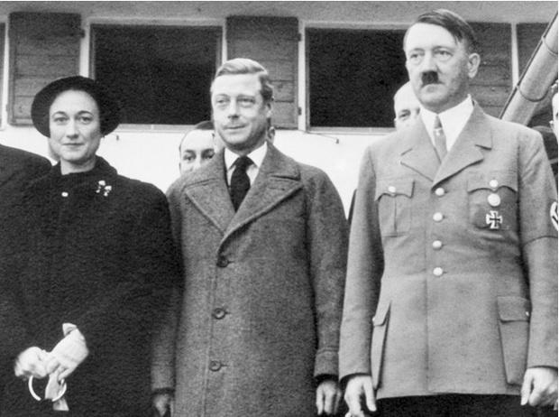 Фото №2 - История с отречением Эдуарда VIII: как Уоллис Симпсон стала проектом Гитлера