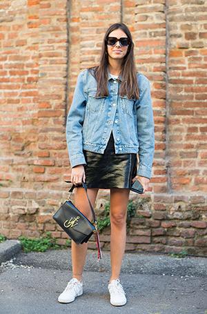 Фото №6 - Как носить самые модные юбки сезона: мастер-класс от звезд street style хроник