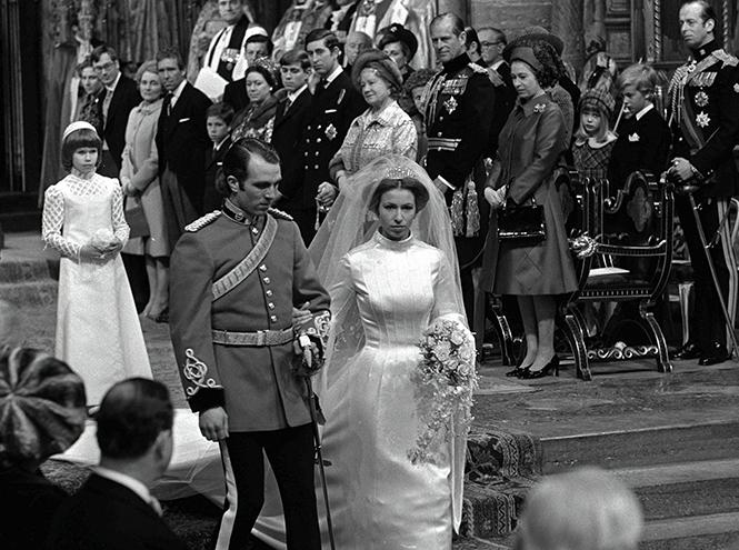 Фото №23 - Первая свадьба принцессы Анны: как выходила замуж дочь Елизаветы II