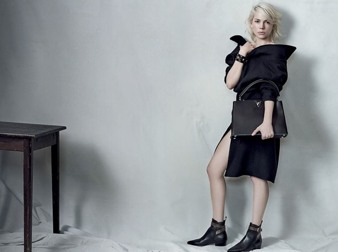 Фото №1 - Мишель Уилльямс в новой рекламной кампании Louis Vuitton