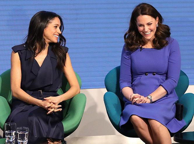Фото №6 - Как Меган и Кейт относятся друг к другу: наблюдения экспертов по языку тела