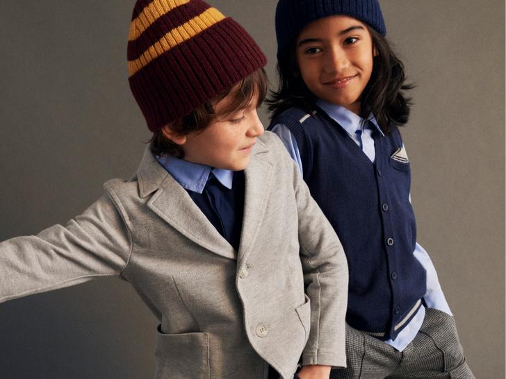 Фото №2 - Как собрать ребенка в школу: стильные образы из коллекции United Colors of Benetton