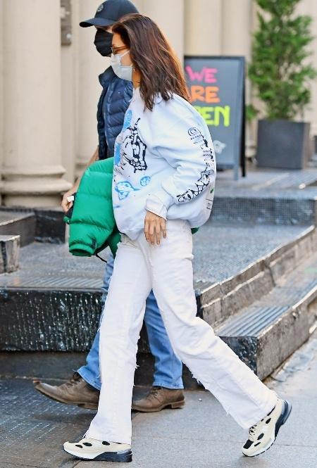 Белла Хадид в Нью-Йорке