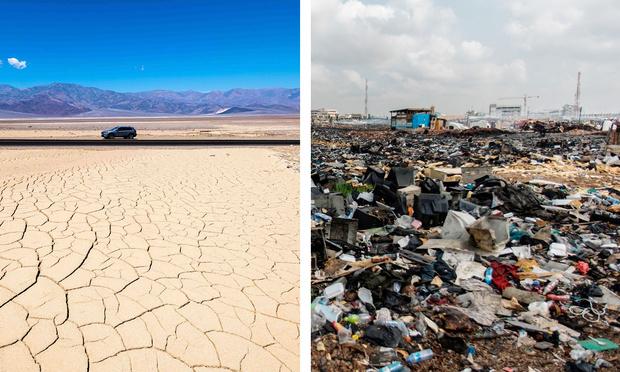 Фото №1 - Гигантская свалка электроники и другие места на Земле с самыми экстремальными условиями