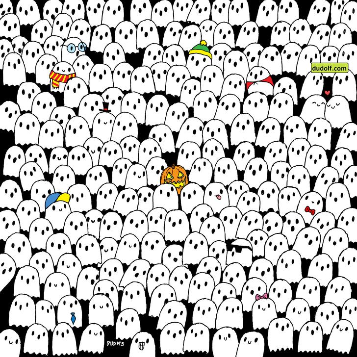 Фото №1 - Загадкатолько для очень острых глаз: найди панду