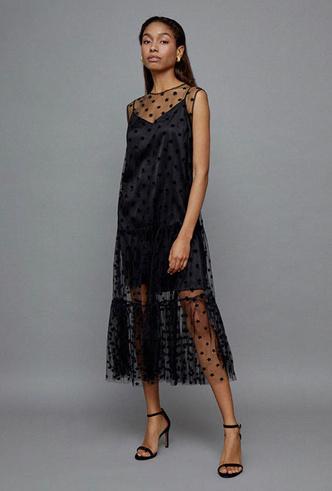 Фото №2 - Самые модные платья для встречи Нового 2020 года: 5 главных трендов