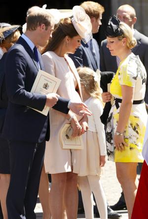 Фото №3 - Королевский отряд: герцогиня Кейт и ее три самых близких подруги в БКС
