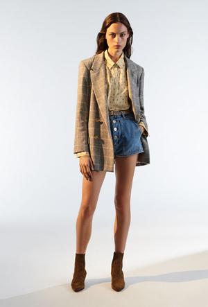 Фото №6 - Базовый гардероб парижанки: самые модные вещи Sandro для весны и лета 2020