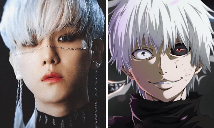 Фото №2 - Кто из k-pop айдолов сыграл бы твоих любимых героев аниме? 🔥