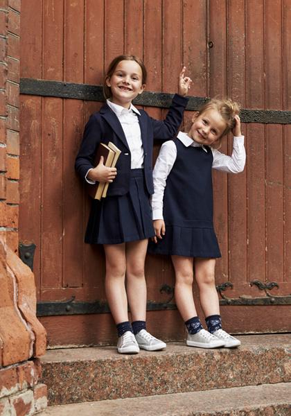 Фото №11 - Артём, Яна и Арсений Аршавины в рекламе школьной формы H&M