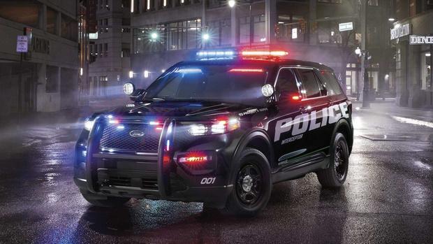 Фото №1 - Ford придумал, как дезинфицировать полицейские автомобили