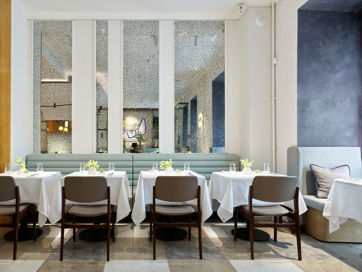 Фото №1 - Ресторан Ava Cafe по проекту бюро Geometry