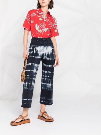 Фото №19 - Самые трендовые джинсы сезона весна-лето 2021: собрали 11 пар, которые украсят ваш гардероб