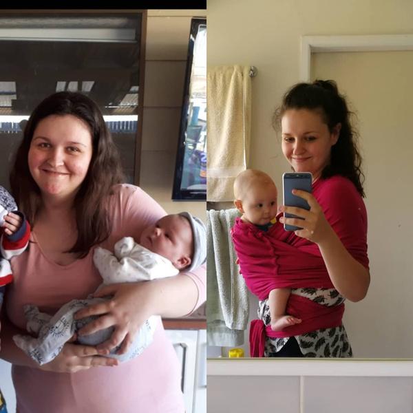 Фото №3 - После третьих родов мама сбросила 40 кг, завтракая чизкейками