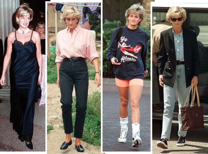 Фото №1 - Как принцесса Диана одевалась в 90-е годы