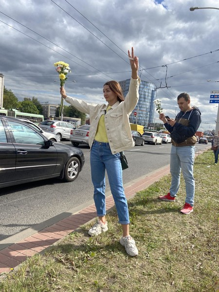 Фото №23 - Самый красивый протест в мире: истории белорусских женщин, восставших против ОМОНа