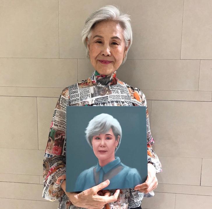 Фото №1 - Из сиделки в модель: история 75-летней Чой Сун Хва из Кореи