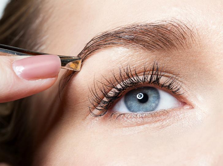 Фото №1 - Как правильно выщипывать брови: советы brow-мастера